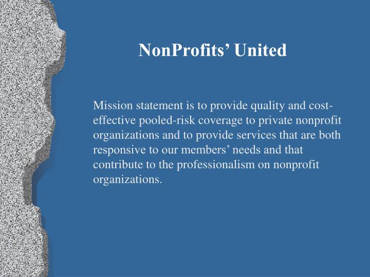 NonProfits' United