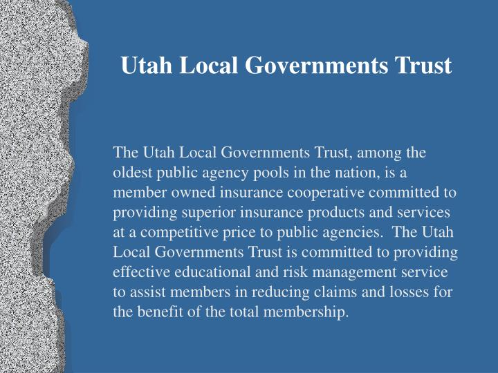 Utah Local Governments Trust