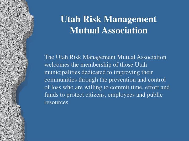 Utah Risk Management
