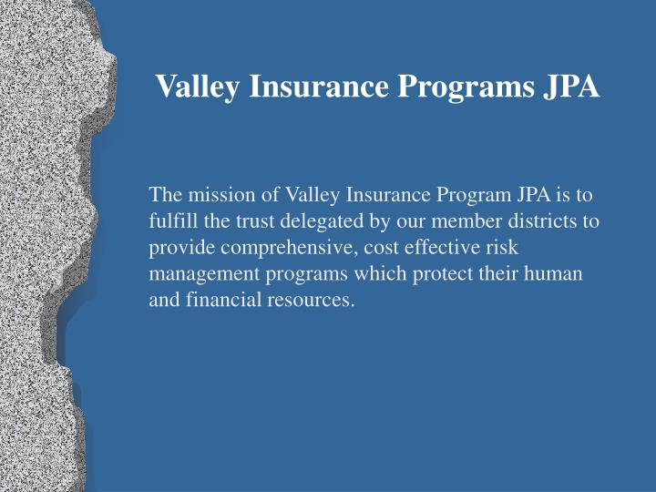 Valley Insurance Programs JPA