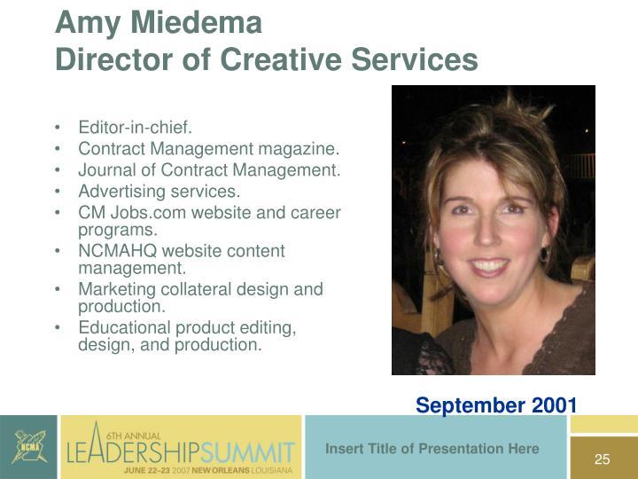 Amy Miedema