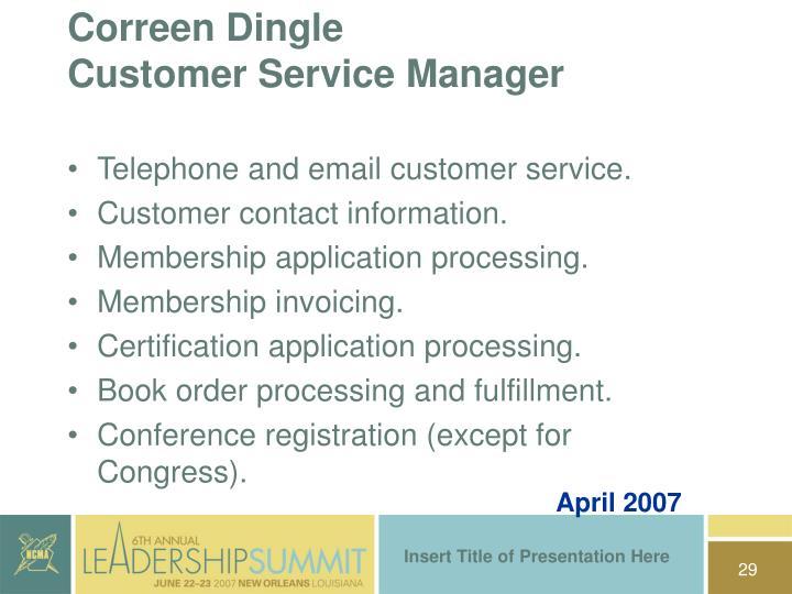 Correen Dingle
