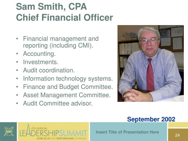 Sam Smith, CPA