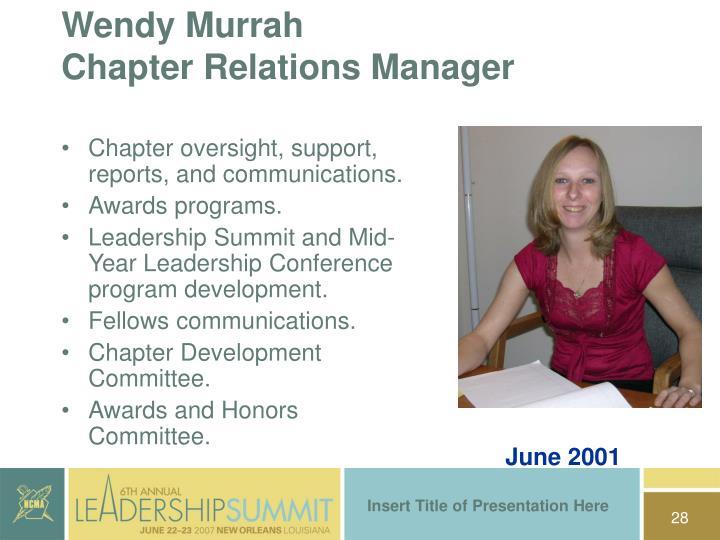 Wendy Murrah