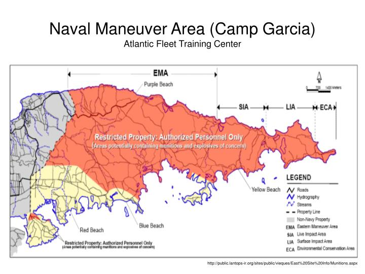 Naval Maneuver Area (Camp Garcia)