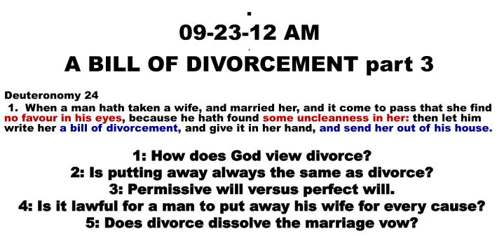 09 23 12 am a bill of divorcement part 3