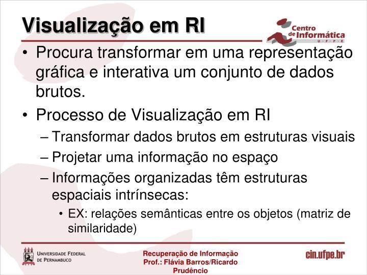 Visualização em RI