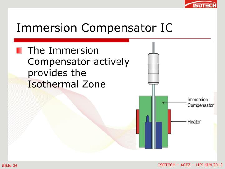 Immersion Compensator IC