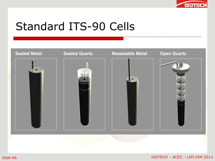 Standard ITS-90 Cells