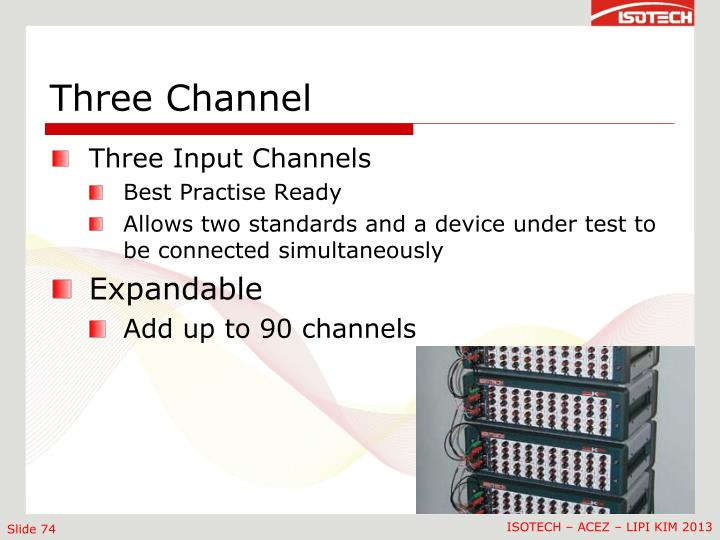 Three Channel