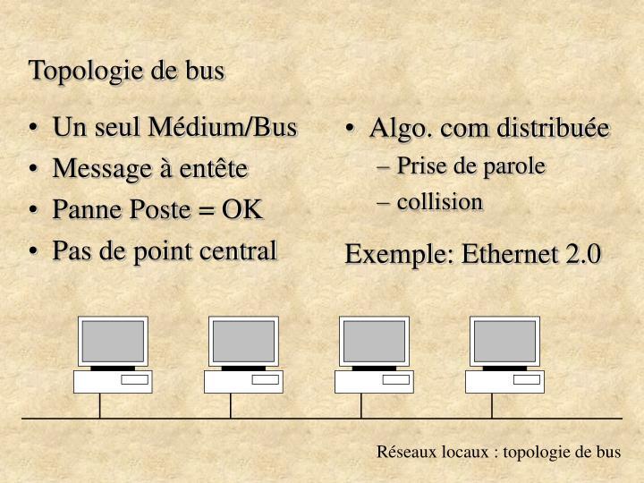 Topologie de bus