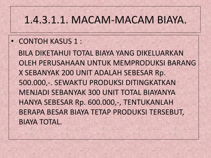 1.4.3.1.1. MACAM-MACAM BIAYA.