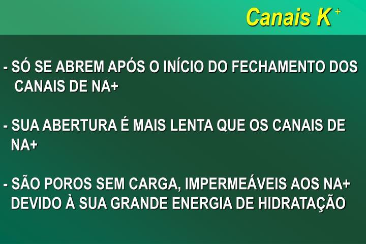 Canais K