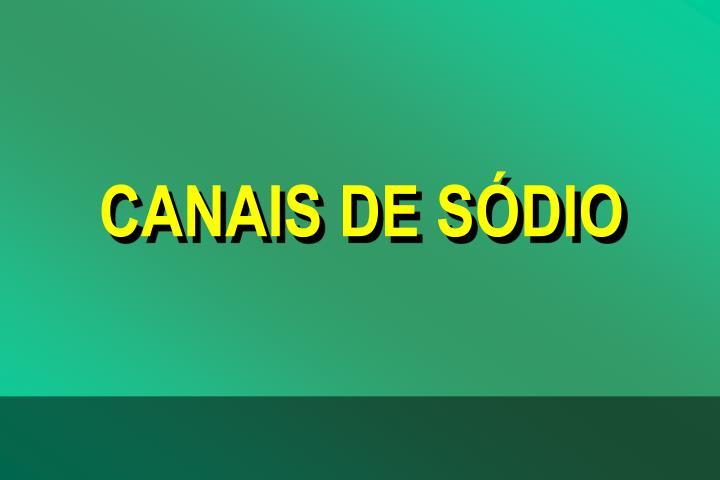 CANAIS DE SDIO