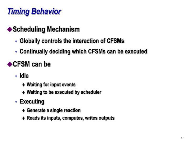 Timing Behavior