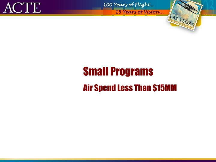 Small Programs
