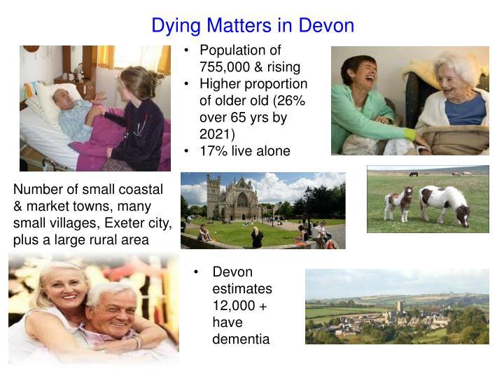Dying Matters in Devon