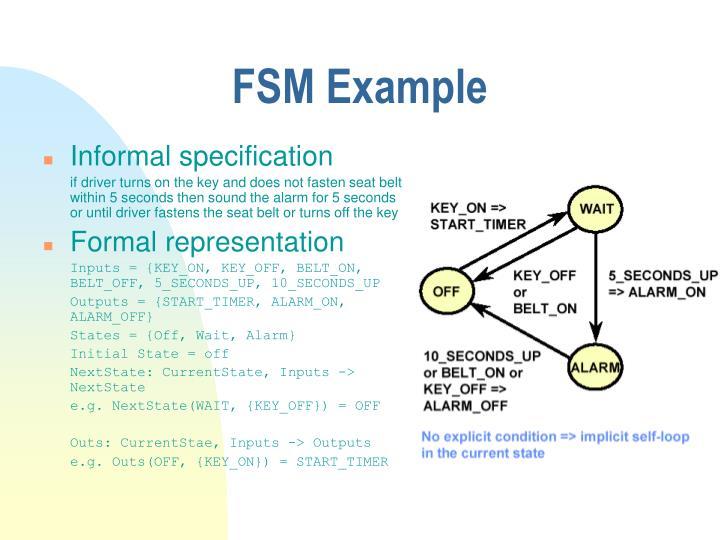 FSM Example