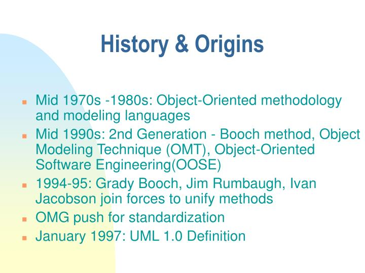 History & Origins
