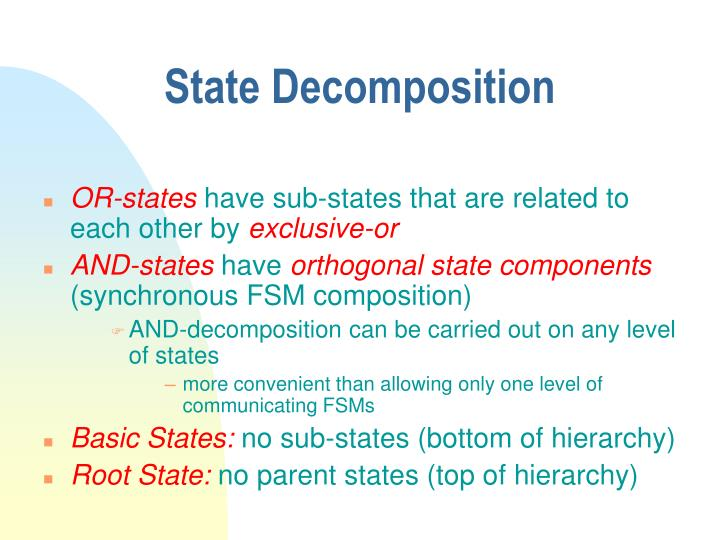 State Decomposition