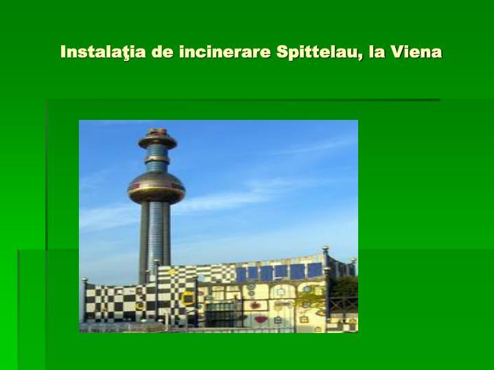 Instalaţia de incinerare Spittelau, la Viena