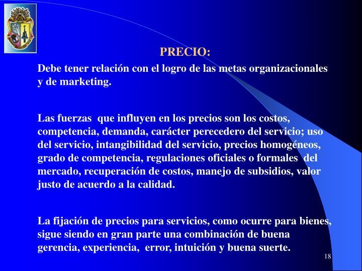 PRECIO: