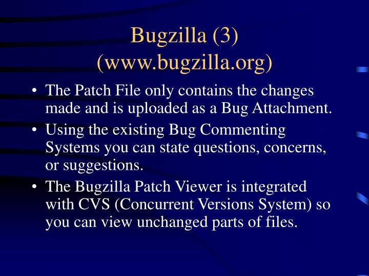 Bugzilla (3)