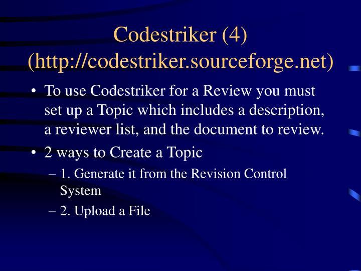 Codestriker (4)