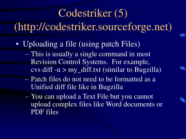 Codestriker (5)