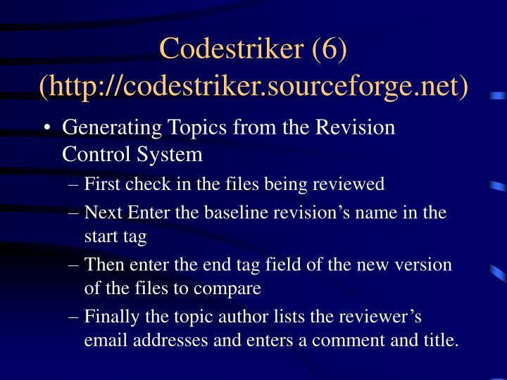 Codestriker (6)