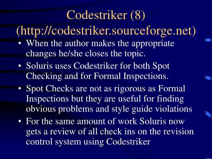 Codestriker (8)