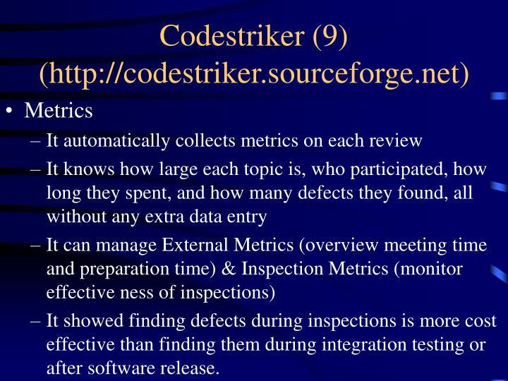 Codestriker (9)