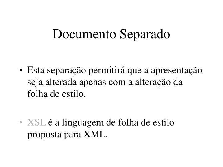 Documento Separado