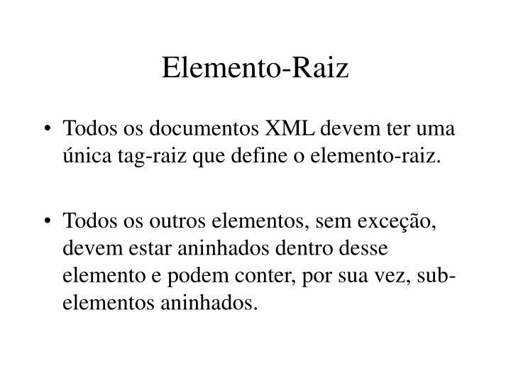 Elemento-Raiz