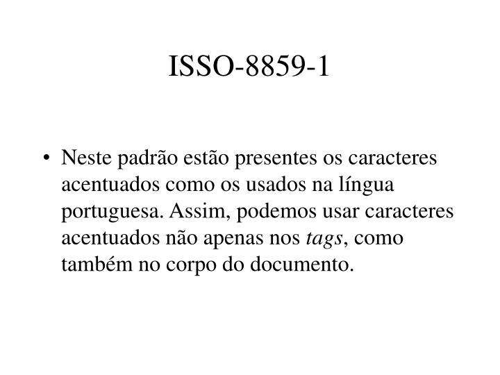 ISSO-8859-1