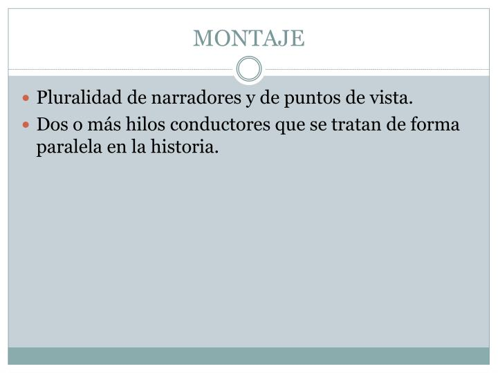 MONTAJE