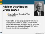 advisor distribution group adg