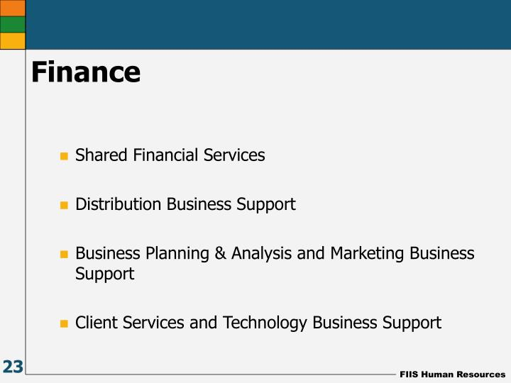 Shared Financial Services