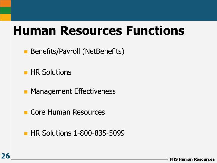 Benefits/Payroll (NetBenefits)