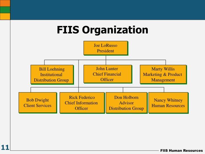 FIIS Organization