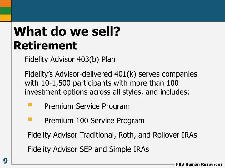 Fidelity Advisor 403(b) Plan