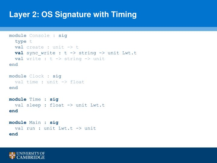 Layer 2: OS Signature with Timing