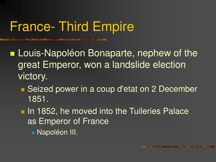 France- Third Empire
