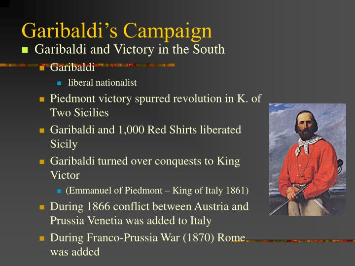 Garibaldi's Campaign