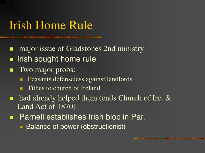 Irish Home Rule