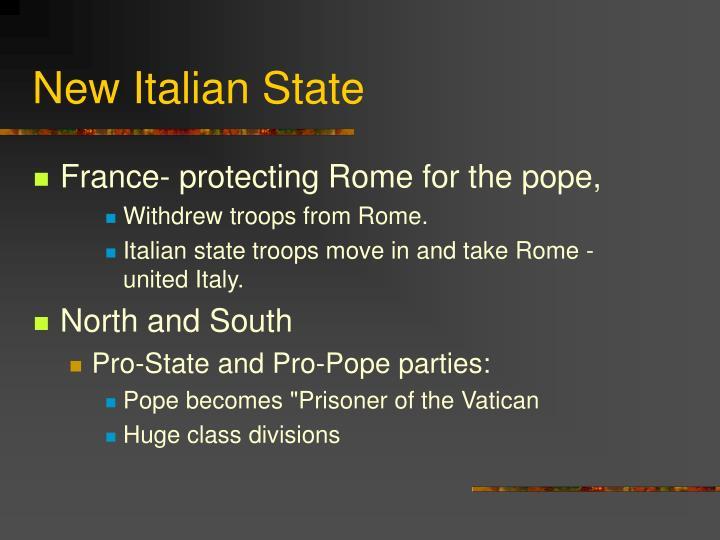 New Italian State