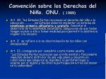 convenci n sobre los derechos del ni o onu 1989