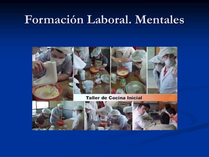 Formación Laboral. Mentales