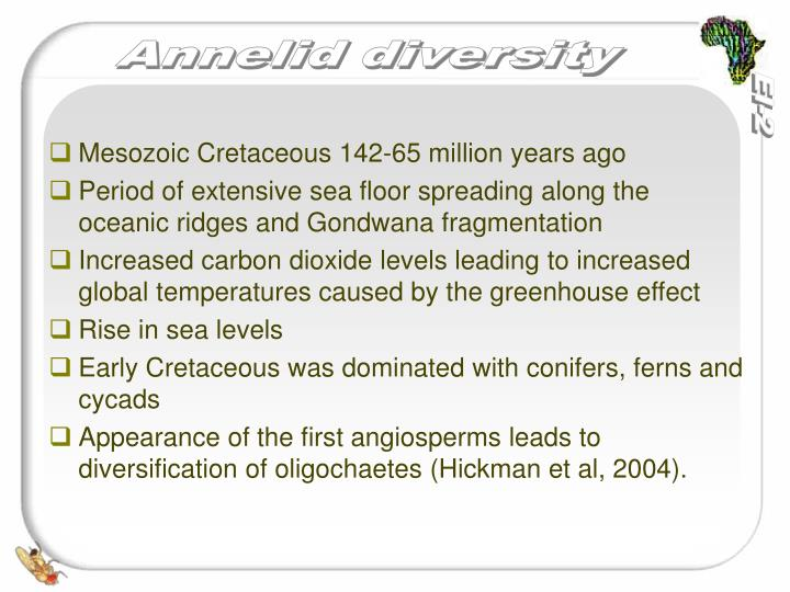 Mesozoic Cretaceous 142-65 million years ago