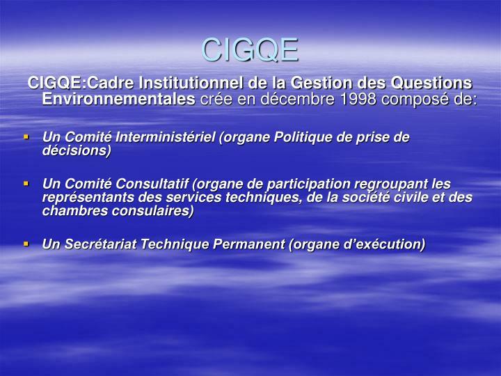 CIGQE